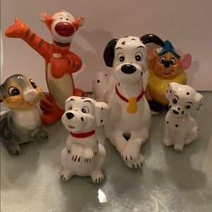 Disney Figurines Lot of 6